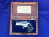 Early Remington Model No. 2 O/U .41 RF Cal. Double Derringer w/2 Line Address