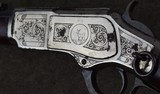 Factory Engraved Nickel Trim Winchester Model 1873 Saddle Ring Carbine SRC with Letter - 12 of 19