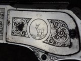 Factory Engraved Nickel Trim Winchester Model 1873 Saddle Ring Carbine SRC with Letter - 13 of 19