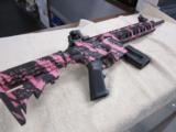 S&W Smith & Wesson M&P 15-22 Pink Camo .22LR