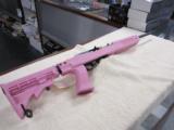 Ruger 10/22 .22 LR Custom Pink Tapco Stock New