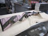 Remington Model 597 .22 LR 20' barrel carbon steel Mossy Oak Pink Camo