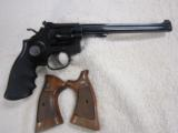 Smith and Wesson S&W Model 17-4 K-22 Masterpiece .22 LR 6 Shot .22 LR W/ Wood grips.