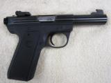 "Ruger Mark III 22/45 Target .22lr 4"" Bull Barrel New"