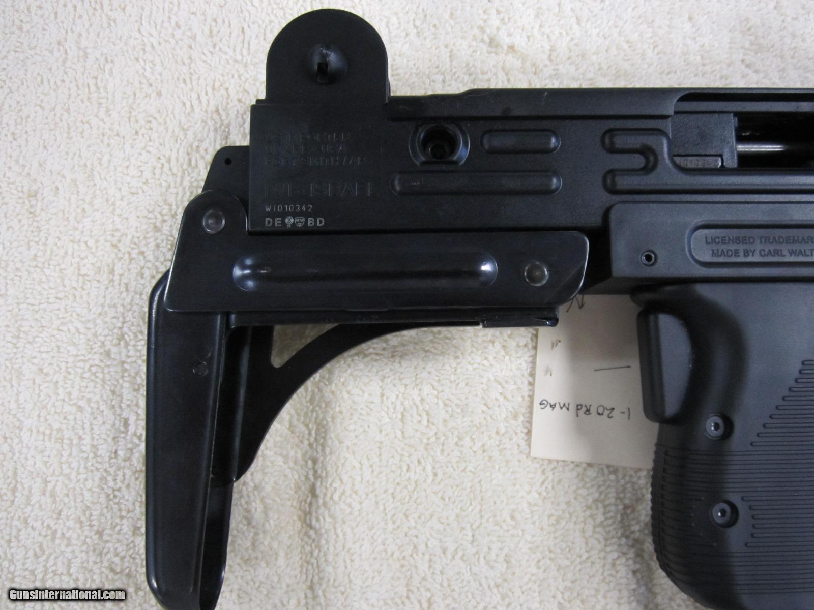 IWI Israel Made Uzi Rifle  22LR 17