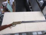 "1860 Henry Rifle Civilian Model Antique Finish 44-40 24"" Barrel New"