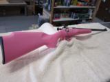 Keystone Crickett Pink Youth Rifle .22LR