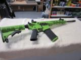 "Anderson ZOMBIE AR-15 .223 /5.56 zombie Green 16"" barrel NEW"