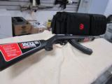 """Ruger 10/22 Take Down .22LR 16.62"""" Stainless Threaded Barrel Fiber Opyics Sights Carry Bag Exclusive NEW"""