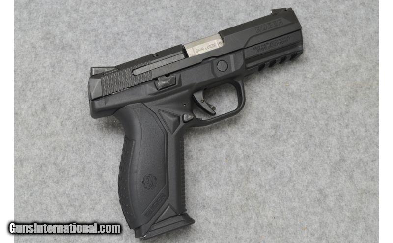 Ruger ~ American Pistol ~ 9mm Luger