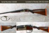 """Webley & Scott 12g 30"""" Anson & Deeley Boxlock Field Shotgun Pre-Owned SN: 83304"""