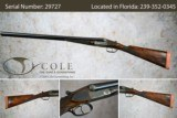 """Francotte 12ga SxS 28"""" Pre-owned SN:29727 - 1 of 11"""