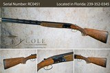 """Beretta 686 Cole Special Sporting 12g 30"""" SN:#RC0451"""