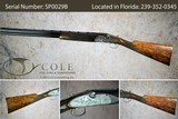 """Beretta SO-10 Sparviere Field 12g 28"""" SN:#SP0029B~~Engraved by Franzini~~ - 1 of 24"""