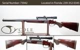Pre-Owned Krieghoff Drilling Trumpf Field Shotgun   20GA/.243 Win   SN: #73942