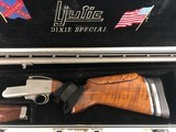 "Ljutic Olympic Mono Gun ""Dixie Special""; 12 Gauge Shotgun and Case"