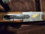 PERAZZI MX3 ORO COMBO TRAP SHOTGUN ENGRAVED BY Bill Main - 9 of 10