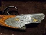 PERAZZI MX3 ORO COMBO TRAP SHOTGUN ENGRAVED BY Bill Main - 6 of 10