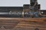 Dakota Arms Model 76 African 450 Dakota Upgraded Stock Engraved Gold Inlaid Case Colored Talley Rings - 16 of 24