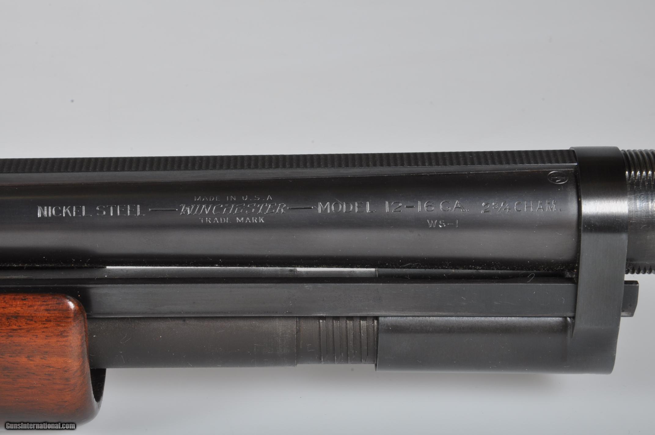 winchester shotgun serial numbers model 12