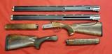 "Unbelievable Value – Blaser F3 American Skeet Model – Two 30"" 12 Ga Barrels – Briley Sub-gauge Tube Set in 20, 28, 410 – Two Stocks"
