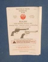 Ruger Hunter Single Six caliber 22 LR and 22 Magnum - 9 of 9