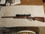 Ruger #1 rifle Liberty Edition .243 rifle with Leopold scope