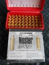 Nosler Brass 6.5X284