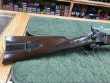 "Davide Pedersoli & C.1874 Sharps "" Q"" Rifle 34'' Heavy Octagon Barrel Oil Finish Stock - 3 of 21"