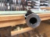 "Davide Pedersoli & C.1874 Sharps "" Q"" Rifle 34'' Heavy Octagon Barrel Oil Finish Stock - 17 of 21"
