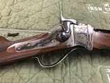 "Davide Pedersoli & C.1874 Sharps "" Q"" Rifle 34'' Heavy Octagon Barrel Oil Finish Stock - 18 of 21"