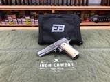 Ed Brown Classic Custom Exhibition Edition Master Engraved 1911 45 ACP Ivory Grips