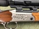 Merkel K3 Stutzen Stalking Rifle 7mm 08 Rem W/ Swarovski Z3 3-10x42 Suhl Scope Mount Package Deal - 15 of 22