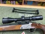 Merkel K3 Stutzen Stalking Rifle 7mm 08 Rem W/ Swarovski Z3 3-10x42 Suhl Scope Mount Package Deal - 13 of 22