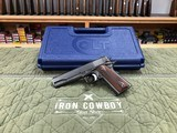 Colt/Nighthawk Custom Series 70 Government 45 ACP Tricked Out By Nighthawk Classy 1911