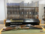 Browning 1886 High Grade & Grade 1 Rifle Set 45-70 GOVT 26'' Octagon Barrels Mint Condition Collector Quality Must See !!!! - 1 of 24