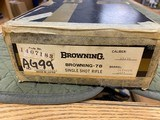 Browning Model - 78 45/70 GOVT Unfired In Box Collector Quality - 19 of 22