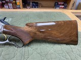 Browning Model 71 Carbine 348 Winchester Grade 1 & High Grade In Box Unfired Collector Quality - 10 of 23