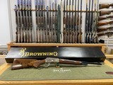 Browning Model 71 Carbine 348 Winchester Grade 1 & High Grade In Box Unfired Collector Quality - 13 of 23