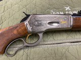 Browning Model 71 Carbine 348 Winchester Grade 1 & High Grade In Box Unfired Collector Quality - 6 of 23