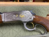 Browning Model 71 Carbine 348 Winchester Grade 1 & High Grade In Box Unfired Collector Quality - 5 of 23
