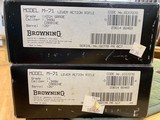 Browning Model 71 Carbine 348 Winchester Grade 1 & High Grade In Box Unfired Collector Quality - 23 of 23