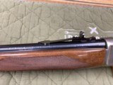Browning Model 71 Carbine 348 Winchester Grade 1 & High Grade In Box Unfired Collector Quality - 11 of 23