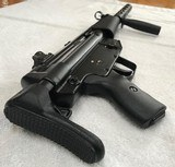 Like New Heckler & Koch HK94 9mm with Factory Collapsible Stock and Barrel Shroud - Must See HK 94 - 6 of 15