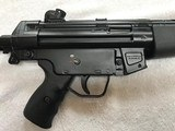 Like New Heckler & Koch HK94 9mm with Factory Collapsible Stock and Barrel Shroud - Must See HK 94 - 4 of 15