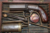 Blunt & Syms Pepperbox in original case .31 cal w/accessories- NICE!!! - 2 of 4
