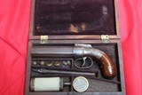 Allen & Thurber Pepperbox in original Case with NOTE and accessories- NICE!!!