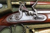 Original Cased set of Dueling Pistols Made by Lane in Brighton, England- NICE!!!!! - 3 of 15