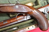 Original Cased set of Dueling Pistols Made by Lane in Brighton, England- NICE!!!!! - 6 of 15