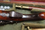 Original Cased set of Dueling Pistols Made by Lane in Brighton, England- NICE!!!!! - 8 of 15